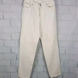 Vintage Levis 501 Button Fly RedTab 28 Mom Jeans